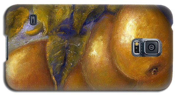 Fine Art Golden Pears With Blue And Green Galaxy S5 Case