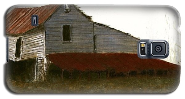Fine Art Oil Painting North Carolina Barn Galaxy S5 Case