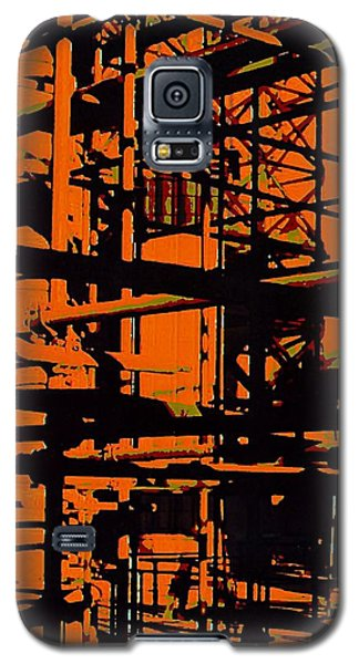 Fine Art Original Digital Pipes Orange Maryland Galaxy S5 Case