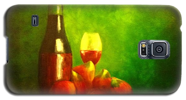 Fine Wine And Figs Galaxy S5 Case by Therese Alcorn