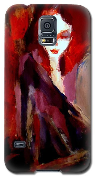 Galaxy S5 Case featuring the painting Finesse by Helena Wierzbicki