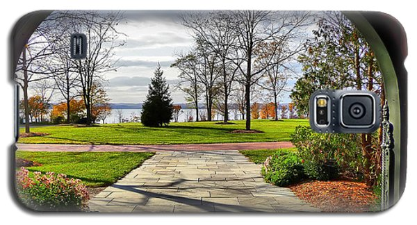 Finger Lakes View From Mackenzie Childs  Galaxy S5 Case by Mitchell R Grosky