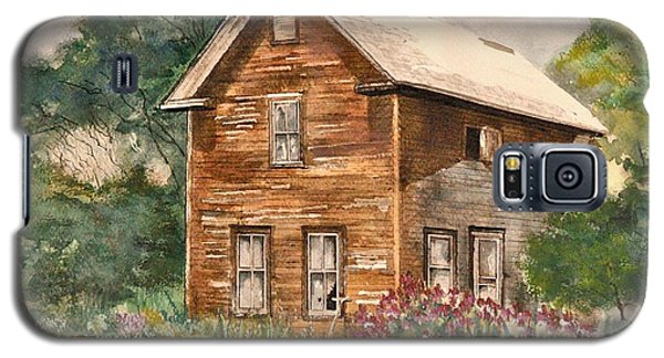 Galaxy S5 Case featuring the painting Finlayson Old House by Susan Crossman Buscho
