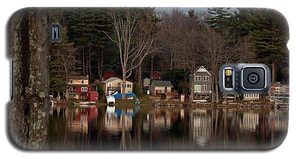 Galaxy S5 Case featuring the photograph Finn Village On Demond Pond - Rutland Massachusetts by John Black