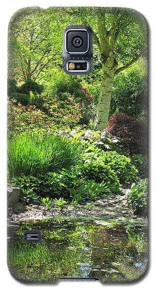Finnerty Gardens Pond Galaxy S5 Case by Marilyn Wilson