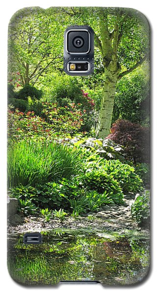 Finnerty Gardens Pond Galaxy S5 Case