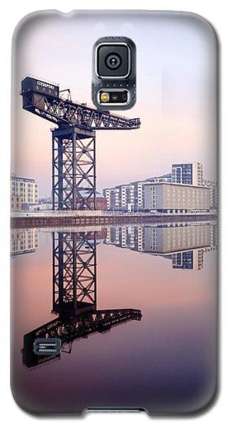 Finnieston Crane Reflection Galaxy S5 Case