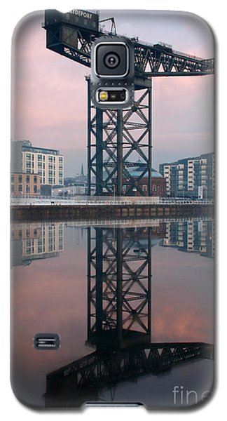 Finnieston Crane Reflections Galaxy S5 Case