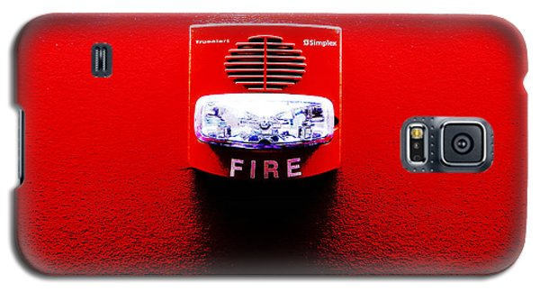Fire Alarm Strobe Galaxy S5 Case