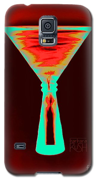 Fire And Ice Martini Galaxy S5 Case