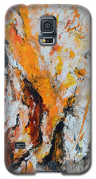 Fire And Passion - Abstract Galaxy S5 Case