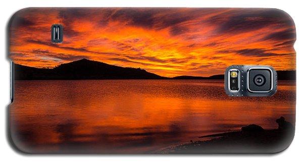 Fire At Dawn Galaxy S5 Case