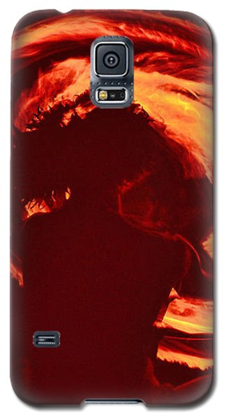 Fire Galaxy S5 Case by Athala Carole Bruckner