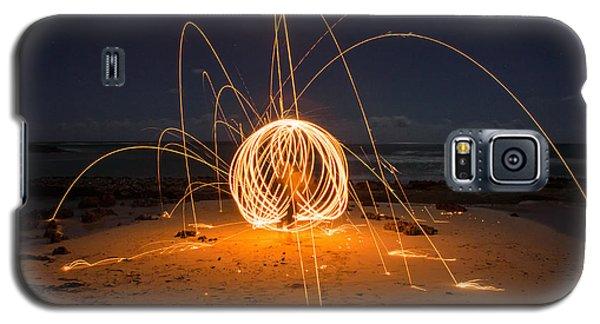 Fire Ball Galaxy S5 Case