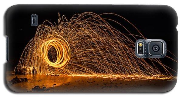 Fire Circle Galaxy S5 Case