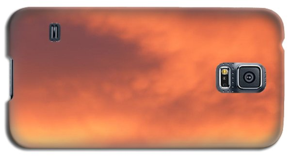 Fire Clouds Galaxy S5 Case by Joseph Baril