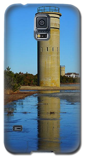 Fire Control Tower 3 Icy Reflection Galaxy S5 Case