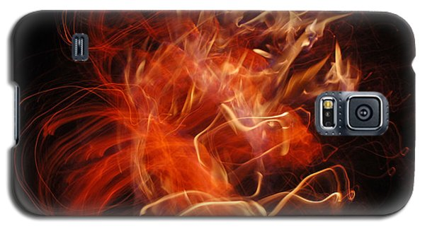 Fire Creature  Galaxy S5 Case by Kjirsten Collier