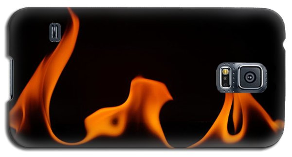 Galaxy S5 Case featuring the photograph Fire Dance by Chris Fraser