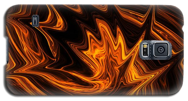 Fire Dancer Galaxy S5 Case by A Dx