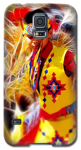 Fire Dancer Galaxy S5 Case