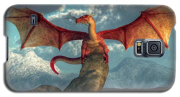 Fire Dragon Galaxy S5 Case