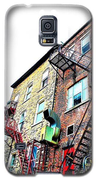 Fire Escape Lattice - Ontario - Canada Galaxy S5 Case