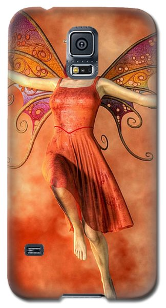 Fire Fairy Galaxy S5 Case by Kaylee Mason
