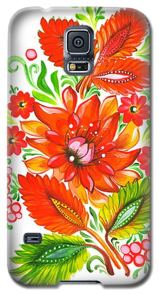 Fire Flower Galaxy S5 Case
