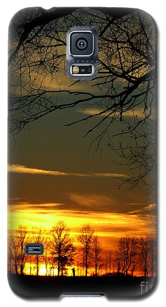 Fire Glow Galaxy S5 Case