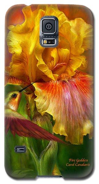 Fire Goddess Galaxy S5 Case