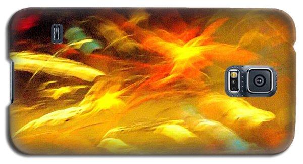 Fire In Motion Galaxy S5 Case by Carolyn Repka