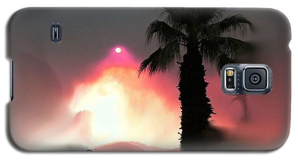 Fire In The Desert Beauty And The Beast Galaxy S5 Case
