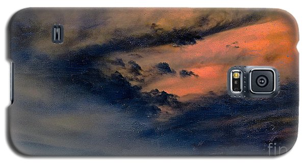 Fire In The Hills Galaxy S5 Case