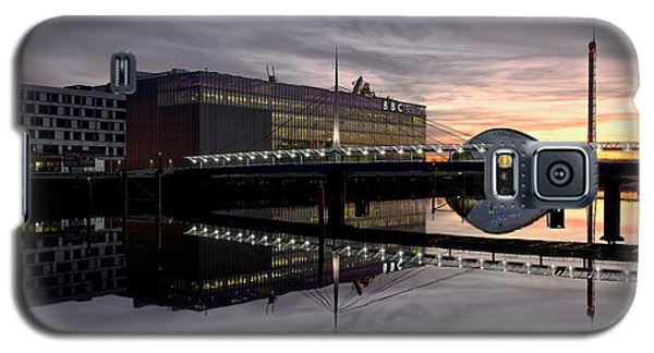 Fire In The Sky At The Clyde Front Galaxy S5 Case