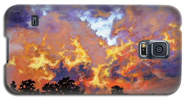 Fire In The Sky Galaxy S5 Case