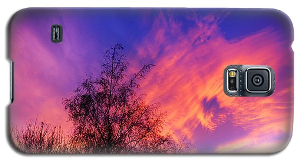 Fire In The Sky Galaxy S5 Case