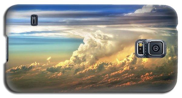 Fire In The Sky From 35000 Feet Galaxy S5 Case