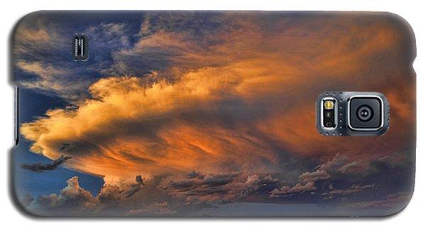 Fire In The Sky Galaxy S5 Case by Karen Slagle