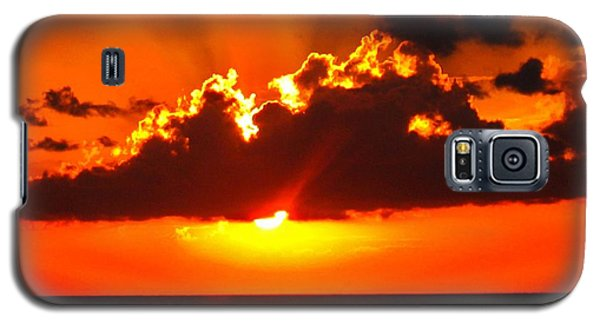 Fire In The Sky Galaxy S5 Case by Patti Whitten