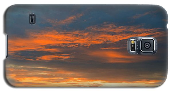Fire In The Sky Sunset Galaxy S5 Case