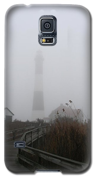 Fire Island Lighthouse In Fog Galaxy S5 Case