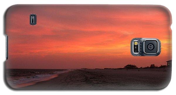 Fire Island Sunset Galaxy S5 Case