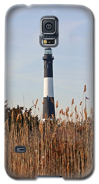 Galaxy S5 Case featuring the photograph Fire Island Tower by Karen Silvestri