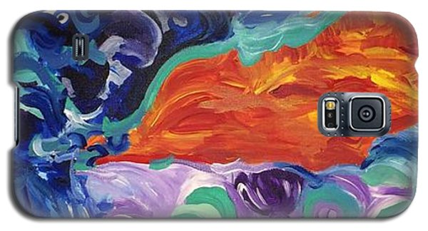 Fire Mountain Galaxy S5 Case