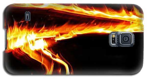 Galaxy S5 Case featuring the photograph Fire On High... by Al Fritz