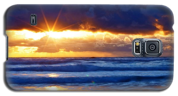 Fire On The Horizon Galaxy S5 Case