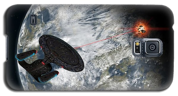 Fire Phasers Galaxy S5 Case by Ian Merton