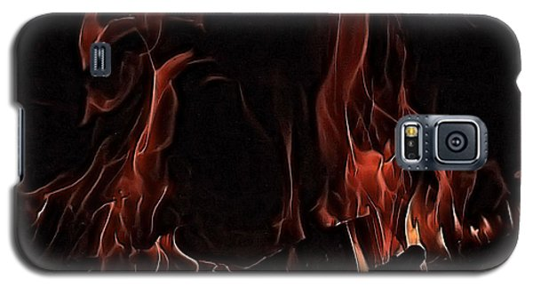 Galaxy S5 Case featuring the photograph Fire by Rachel Hames
