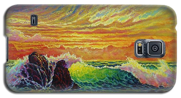 Fire Storm Sunset Galaxy S5 Case